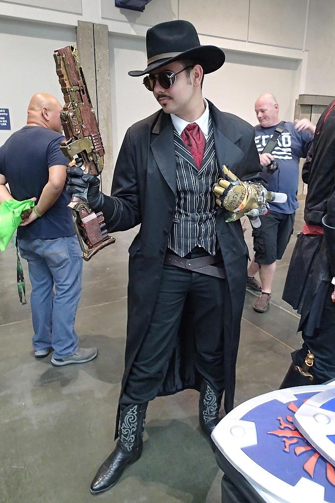 steampunk mand